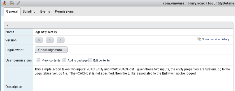 vCAC Debugging support