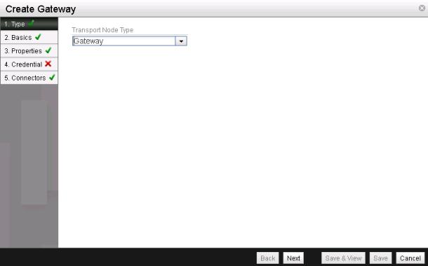 NSX L2 VTEP Gateway - Create Gateway 1
