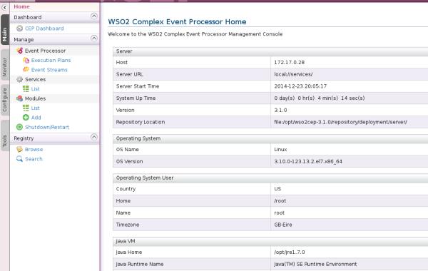 WSO2 Complex Event Processor (CEP)
