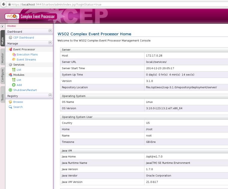 WSO2 Complex Event Processor