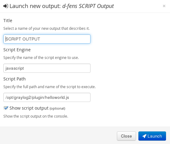 HOWTO] Creating a Graylog2 Output Plugin – d-fens GmbH