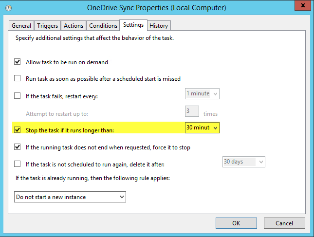 HOWTO] Sync OneDrive on Server even if Windows User not logged in